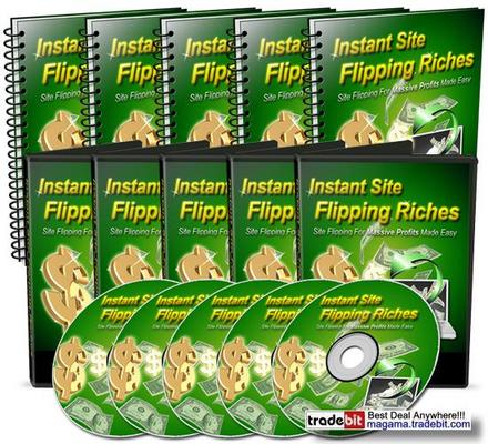 Pay for Instant Site Flipping Riches Master Resale Rights!