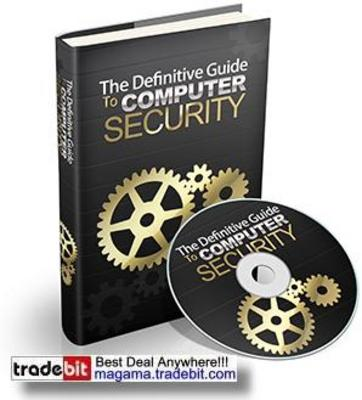 Pay for The Definitive Guide To Computer Security PLR!