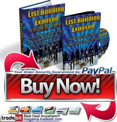 Pay for List Building Exposed Email Secrets PLR!
