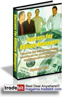 Pay for Success For Affiliates Managers MRR!