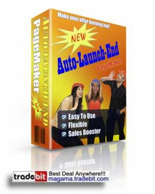 Pay for Auto-Launch-End Pagemaker MRR!