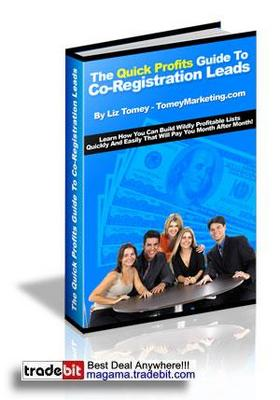 Pay for The Quick Profits Guide To Co-Registration Leads MRR!