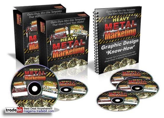 Pay for heavy metal marketing Template MRR!