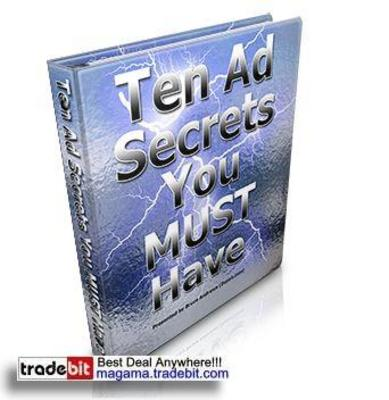 Pay for Ten Ad Secrets You MUST Have PLR!