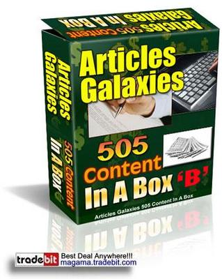 Pay for Articles Galaxies Pack PLR!