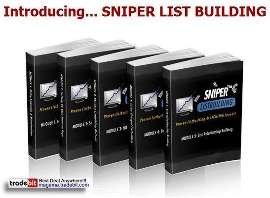 Pay for Sniper List Building MRR!