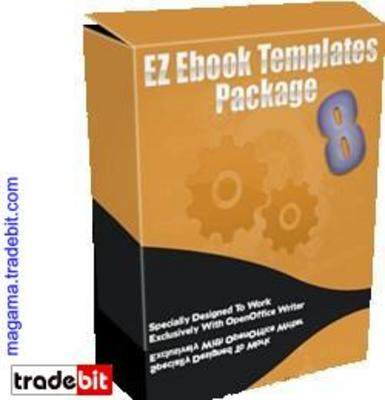 Pay for EZ Ebook Template Package #8 MRR!