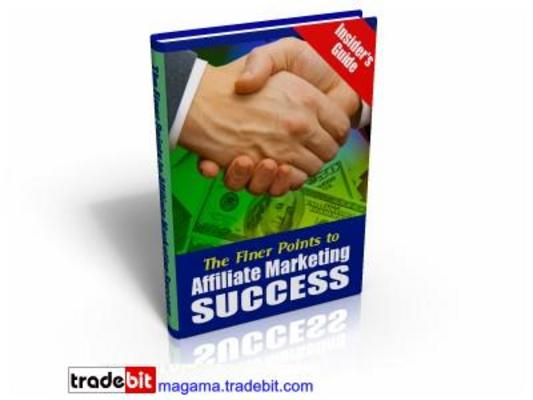 Pay for The Finer Points To Affiliate Marketing Success MRR!