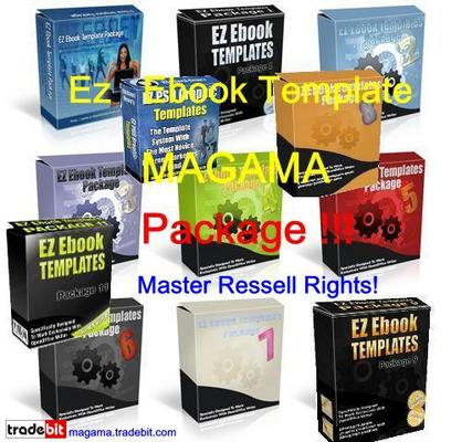 Pay for EZ Ebook Template Package MAGAMA Pack MRR!