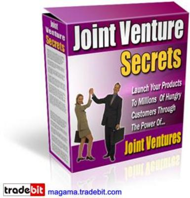 Pay for Joint Venture Secrets MRR!