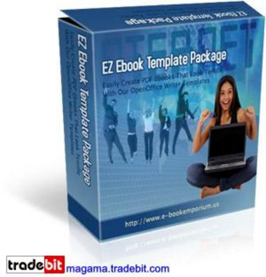 Pay for EZ Ebook Template Package MRR!