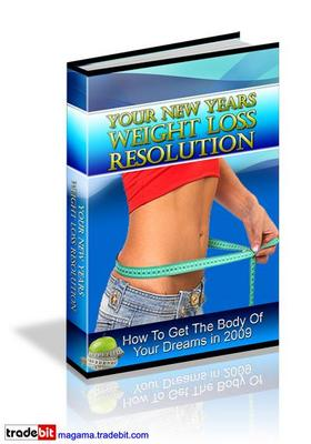 Pay for Your New Years Weight Loss Resolution PLR MRR!