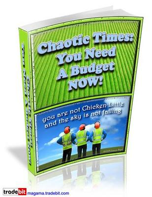 Pay for Chaotic Times: You Need A Budget Now! RR!