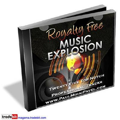 Pay for Royalty Free Music Explosion MRR!