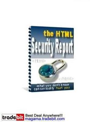 Pay for The HTML Security Report MRR!
