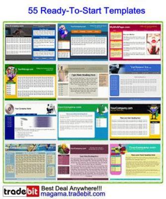 Pay for 55 Ready-To-Start Templates MRR!