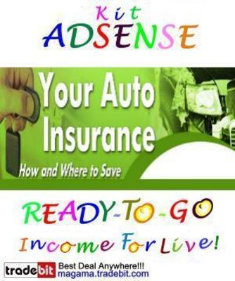 Pay for Adsense Kit Ready To Go - Auto Insurance Savings - Personal