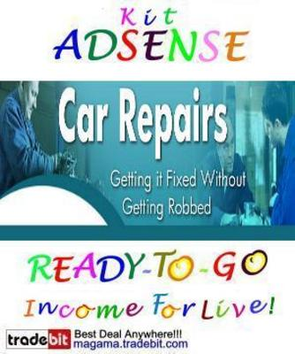 Pay for Adsense Kit Ready To Go - Car Repairs - Personal Use!