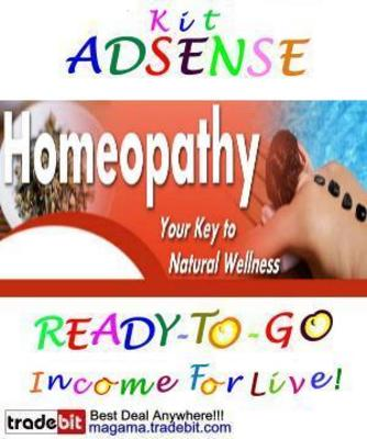 Pay for Adsense Kit Ready To Go - Homeopathy - Personal Use!