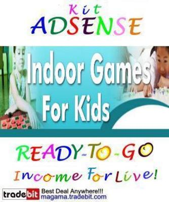 Pay for Adsense Kit Ready To Go - Indoor Kids Games - Personal Use!