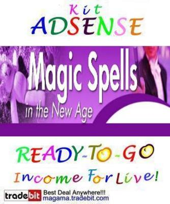 Pay for Adsense Kit Ready To Go - Magic Spells - Personal Use!