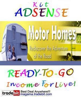 Pay for Adsense Kit Ready To Go - Motor homes - Personal Use!