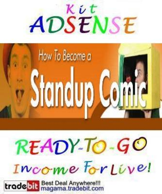 Pay for Adsense Kit Ready To Go - Learn Standup Comedy - P. Use