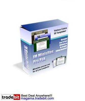 Pay for IM Minisites Pro Pak MRR!