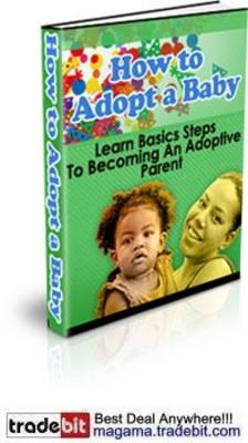 Pay for How to Adopt a Baby or Child Audio and Ebook MRR!