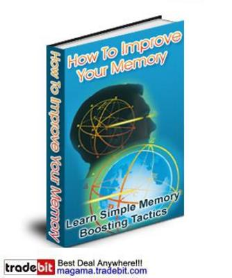 Pay for How To Improve Your Memory Audio and Ebook MRR!