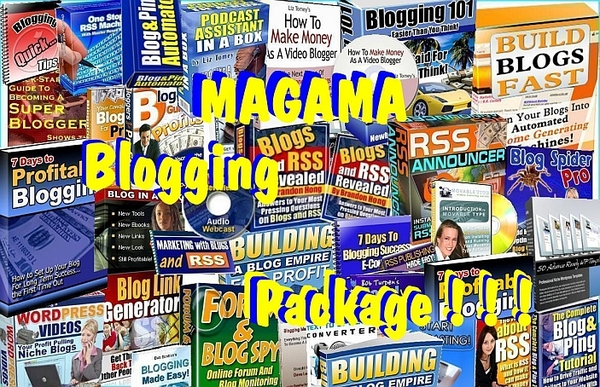 Pay for MAGAMA Blogging  Package!