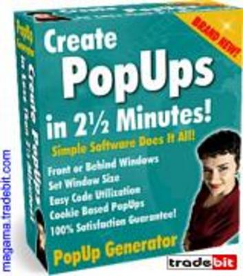 Pay for PopUp Generator with Master Resell Rights!