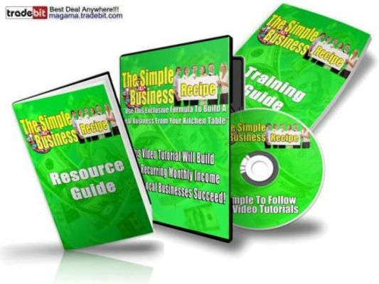 Pay for The Simple Business Recipe PLR!