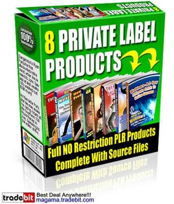 Pay for 8 Private Label Rights Products Multipack!