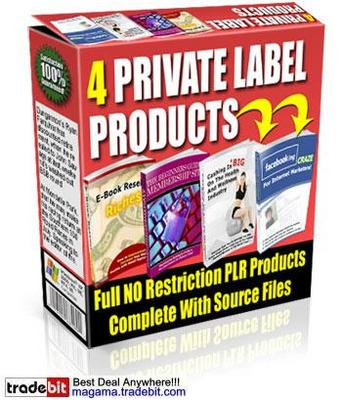 Pay for 4 Private Label Rights Products Multipack!