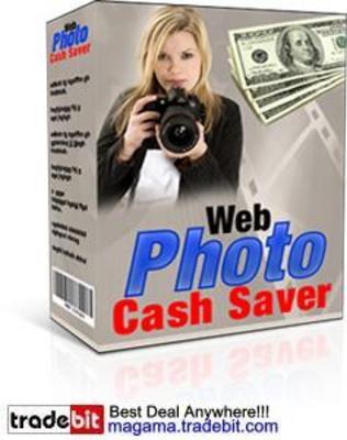 Pay for Web Photo Cash Saver MRR!