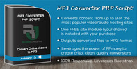 Thumbnail MP3 Converter PHP Script