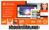 Thumbnail 3Clicks  Responsive Multi-Purpose WordPress Theme