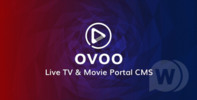 Thumbnail OVOO - Live TV & Movie Portal CMS