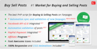 Thumbnail Buy sell posts fanpages facebook market script