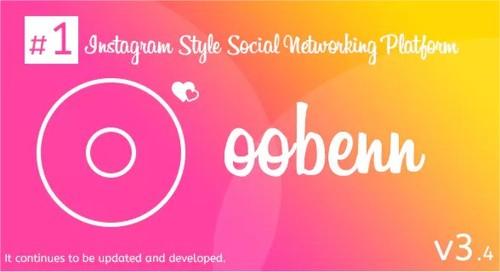 Pay for oobenn Instagram Style Social Networking Script