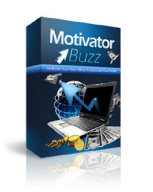 Pay for Motivator Buzz Software - *New! - Master Resale Rights