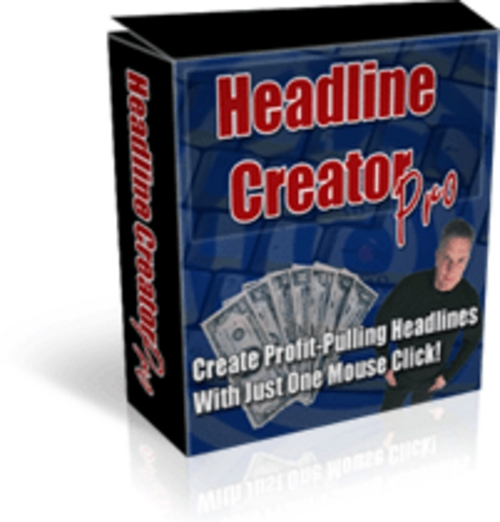 Pay for Headline Creator Pro! - Best Selling Software Rocks!