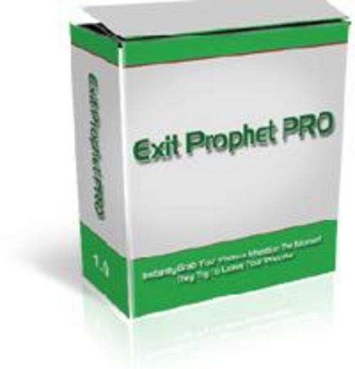 Pay for *New* For 2017! - Exit Prophet Product Software