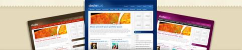 Thumbnail Download StudioBlue WordPress Theme