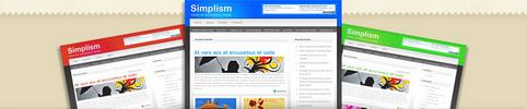 Thumbnail Download Simplism WordPress Theme