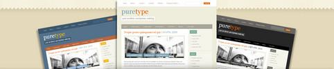 Thumbnail Download PureType WordPress Theme