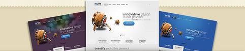 Thumbnail Download Nova WordPress Theme