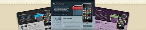 Thumbnail Download MyApp WordPress Theme