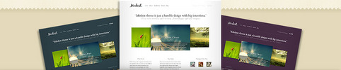Thumbnail Download Modest WordPress Theme